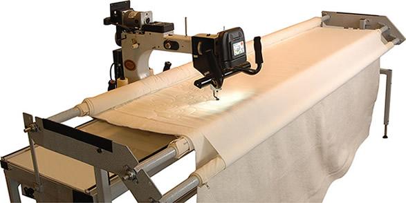 We offer custom machine quilting
