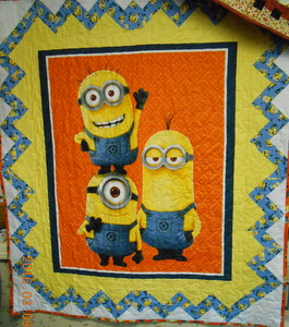 one in a minion quilt kit - The Bayberry Quilt and Gift Shoppe : minion quilt - Adamdwight.com