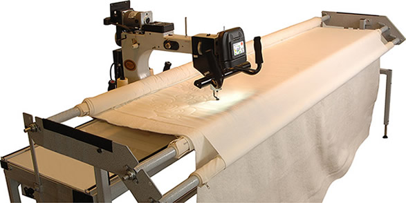 We offer custom machine quilting